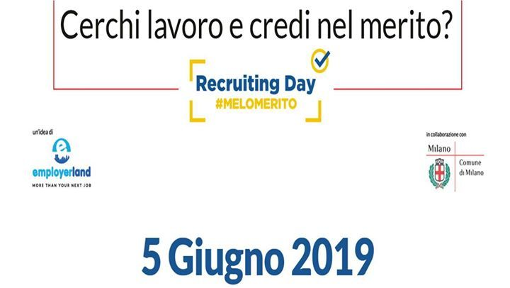 EmployersLand - Recruiting Day Milano Luiss Hub