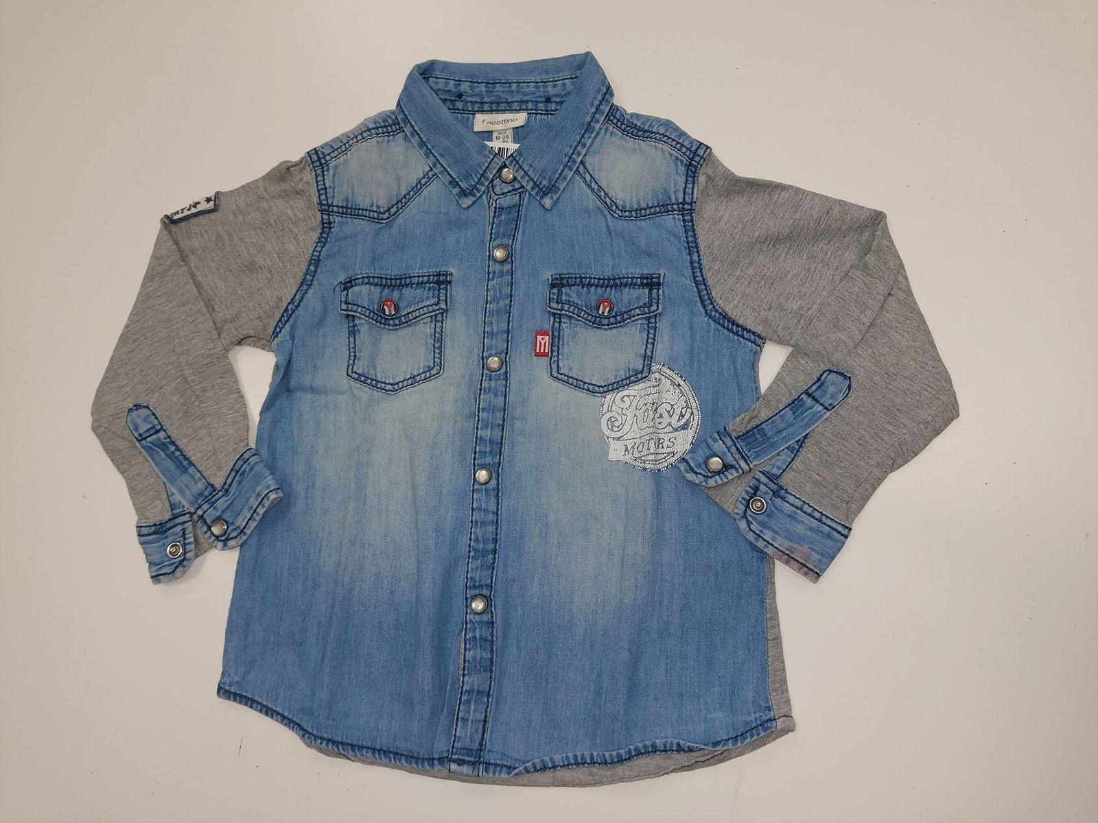 Fagottino camicia di jeans 18/24mesi  € 8,90 13976