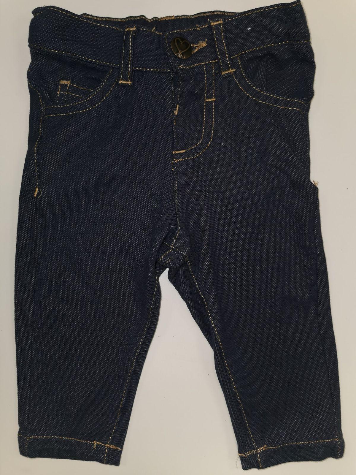 Fagottino Jeans elasticizzati tipo leggins 3/6 mesi € 8.90 12501
