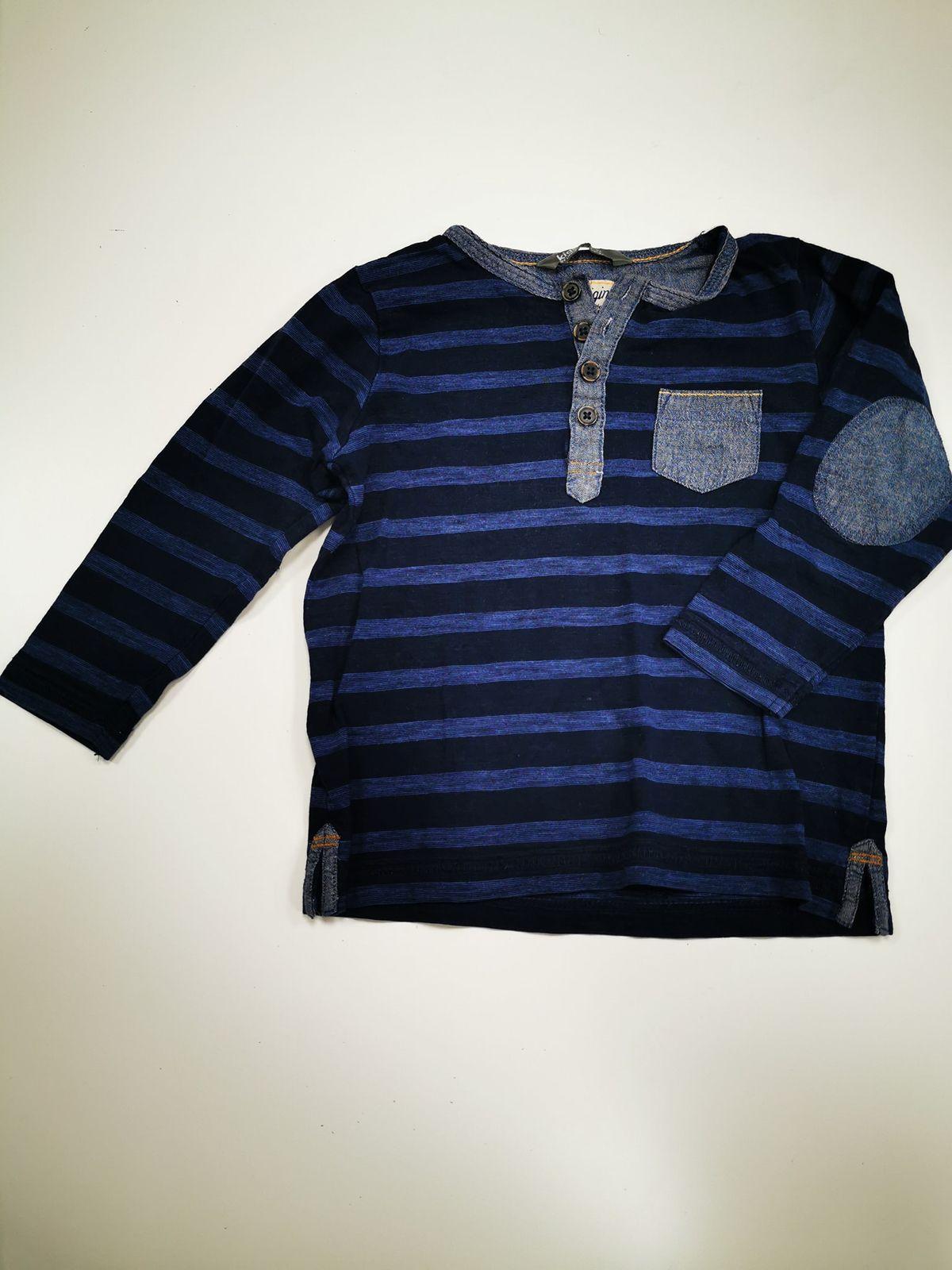 Kids maglietta a righe blu Bimba 2/3 anni 11227 Euro 4,50