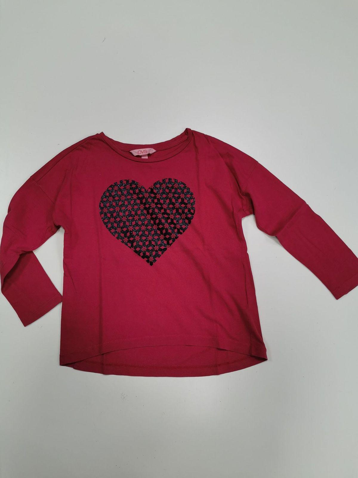 Ovs maglietta cotone 4/5 anni 12146 Euro 4,80