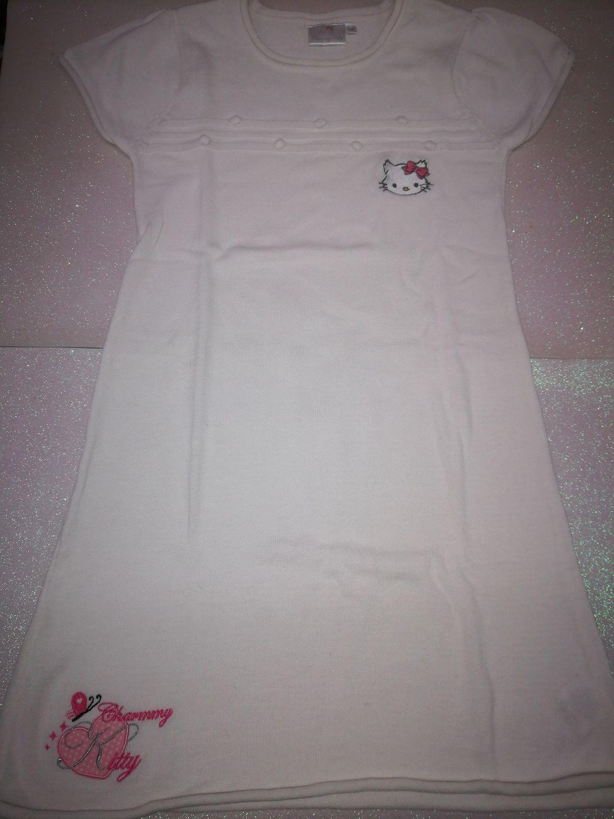 Vestito caldo cotone Da abbinare con maglietta maniche lunga sotto € 6,50 10 anni 030
