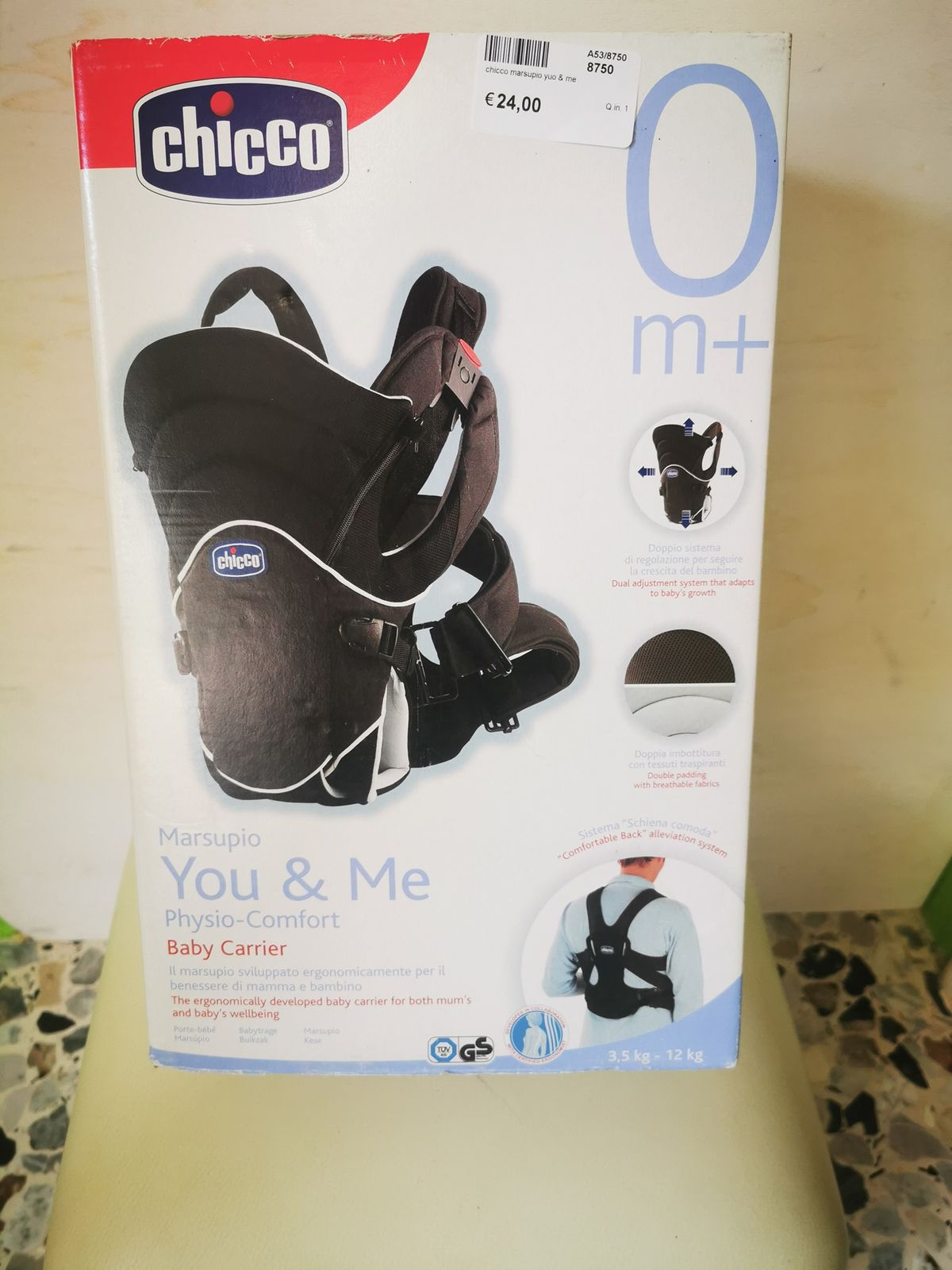 Chicco marsupio you & me 8750 Euro 24,00