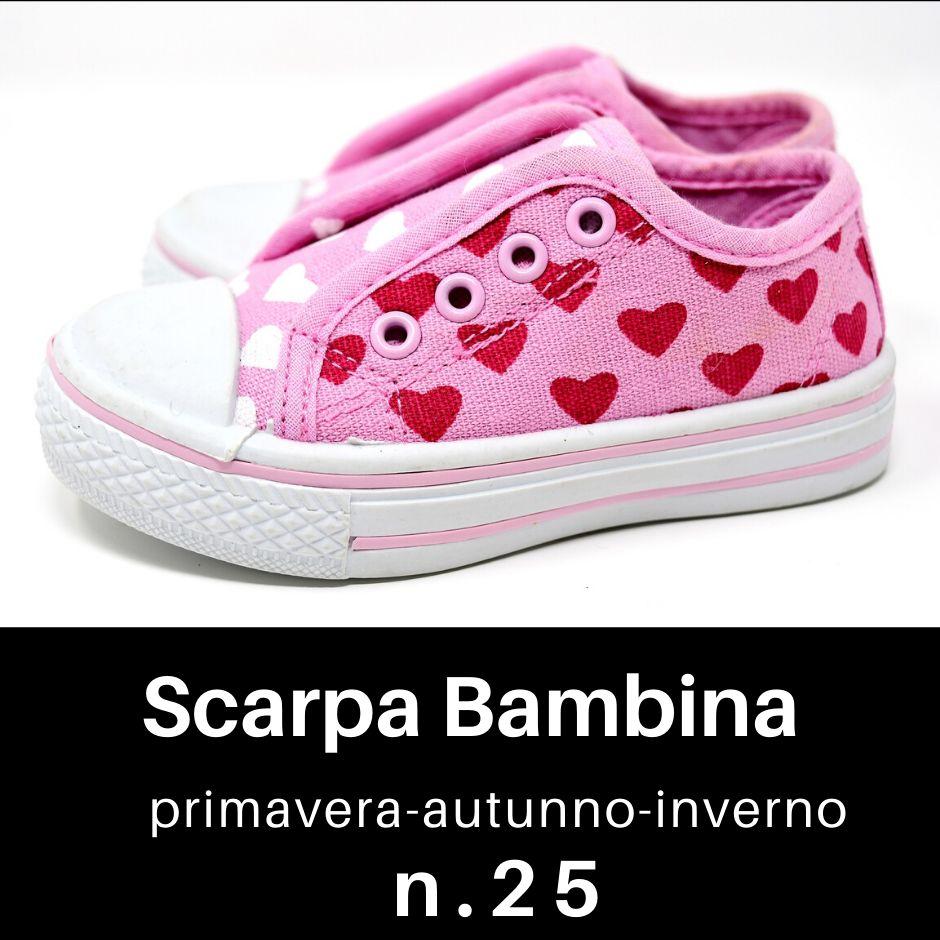 Scarpe Bambina n. 25