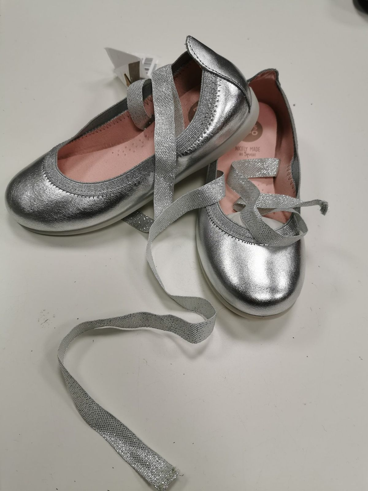 Gios eppo ballerine nuove argento N 31 694 Euro 38,00