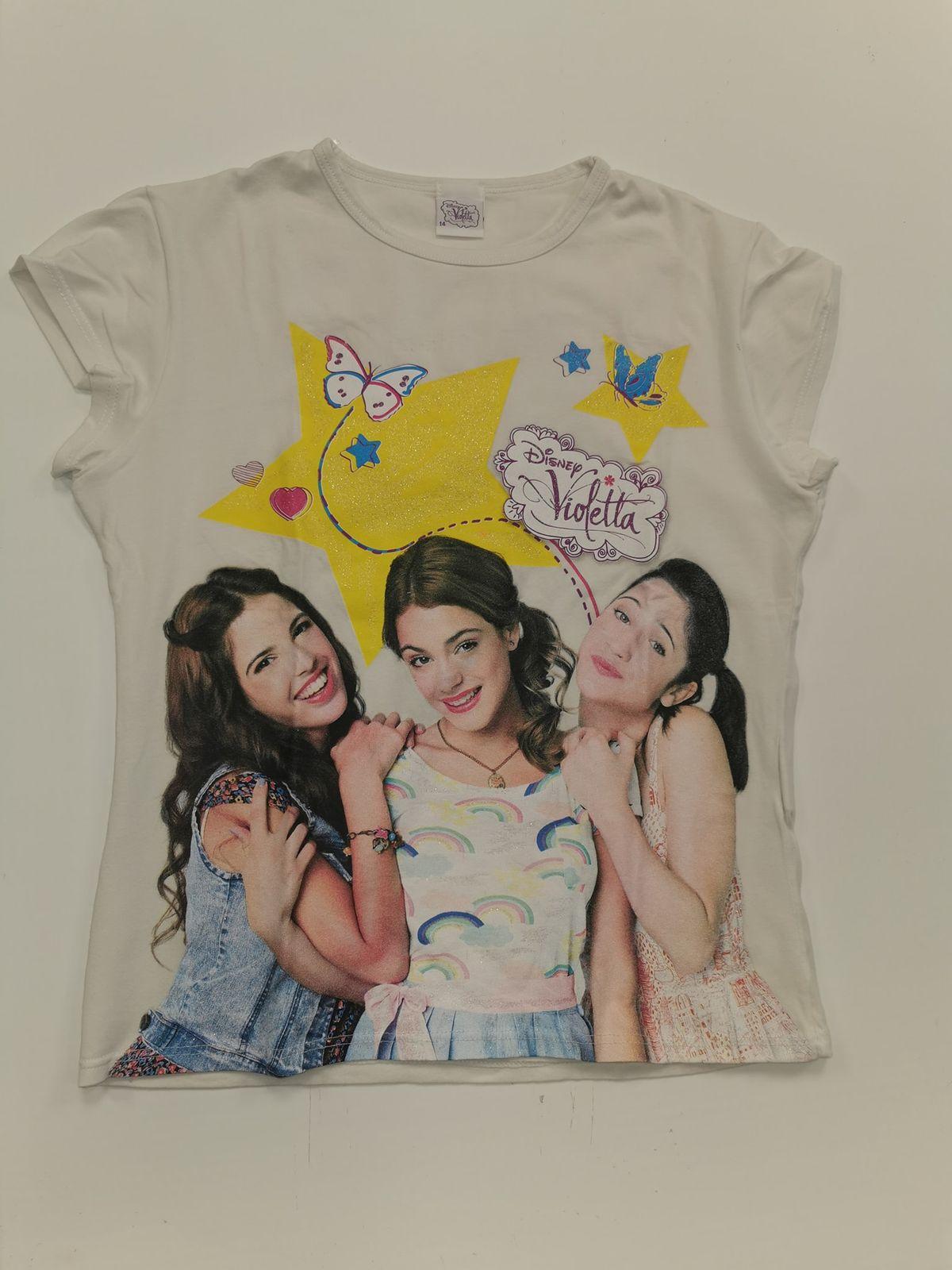13265. Violetta 12 anni maglietta Euro 6,90