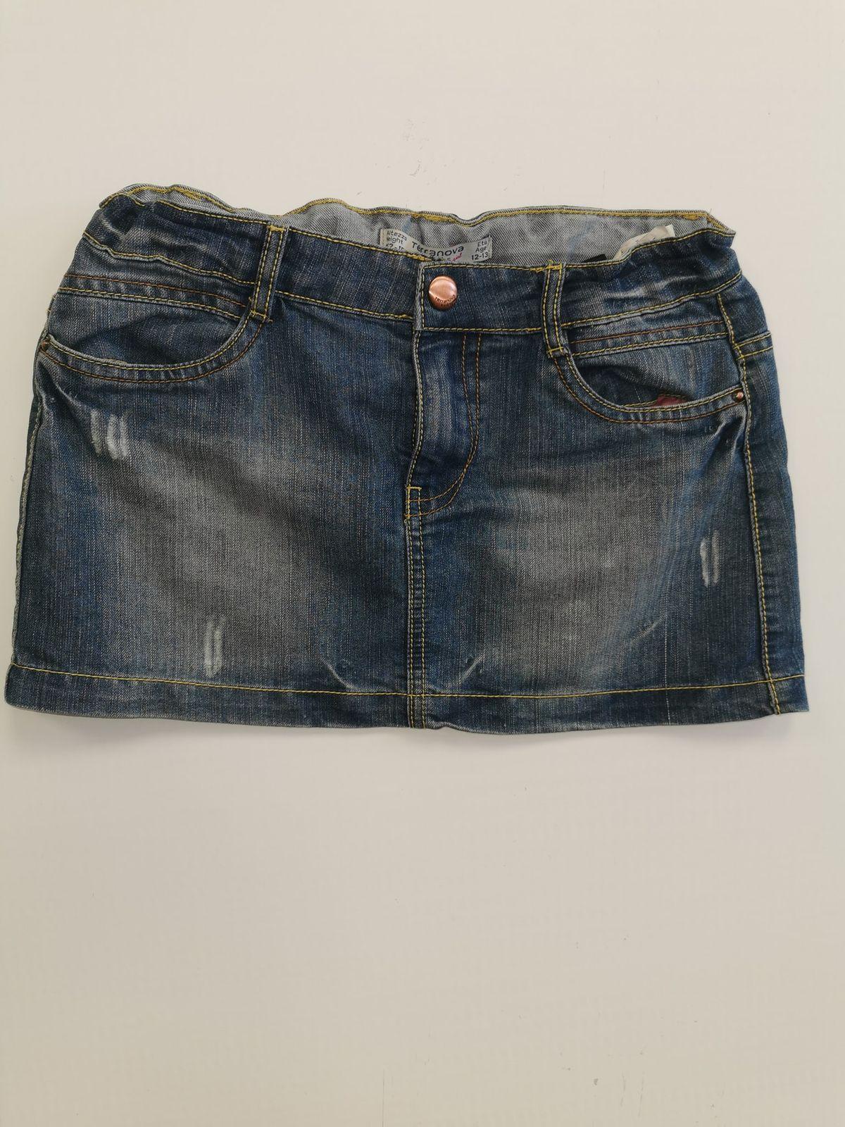 13299. Terranova gonna jeans 12 anni Euro 7,90