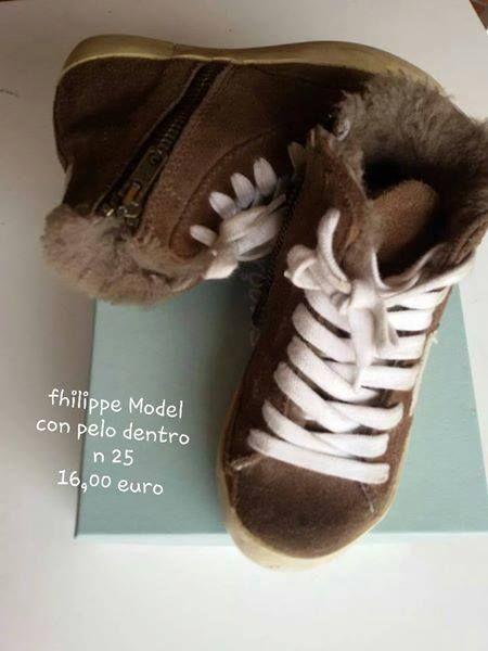 Fhilippe Model numero 25 16,00 euro con pelo dentro
