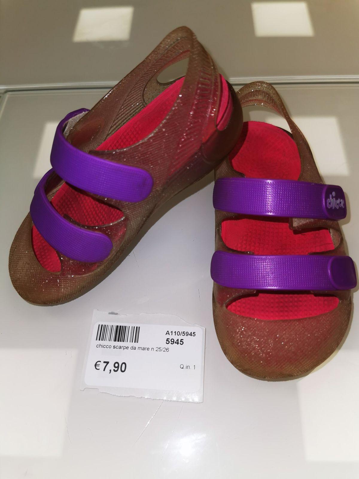 Chicco sandalino da mare codice 5945 Numero 22/23 Euro 7,90