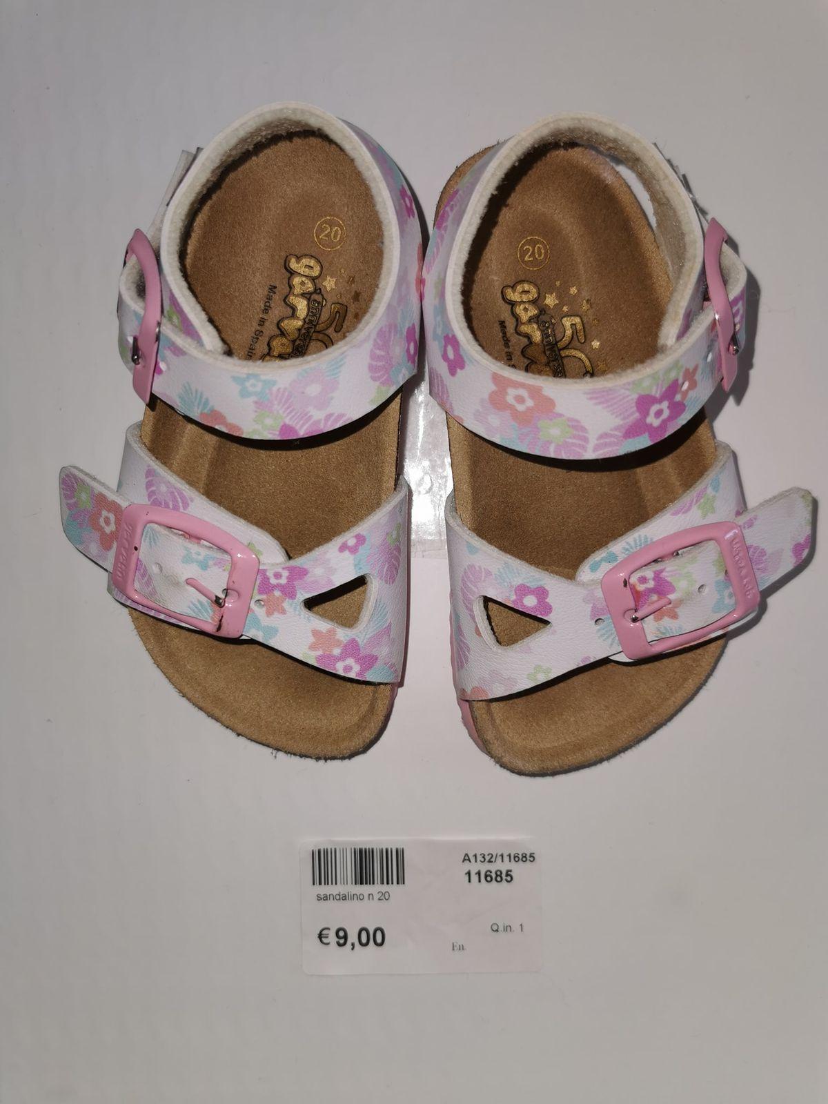Sandalo Garvalin n.20 codice 11685 Euro 9,00