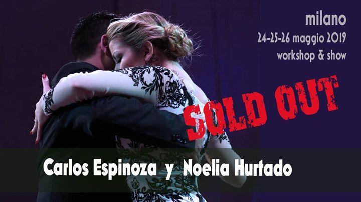 Carlos Espinoza y Noelia Hurdado: Seminari a Milano