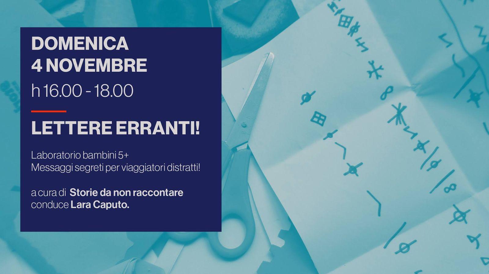 Workshop per bambini - Lettere erranti!