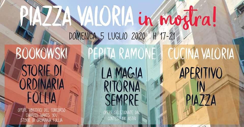 Piazza Valoria - in mostra!