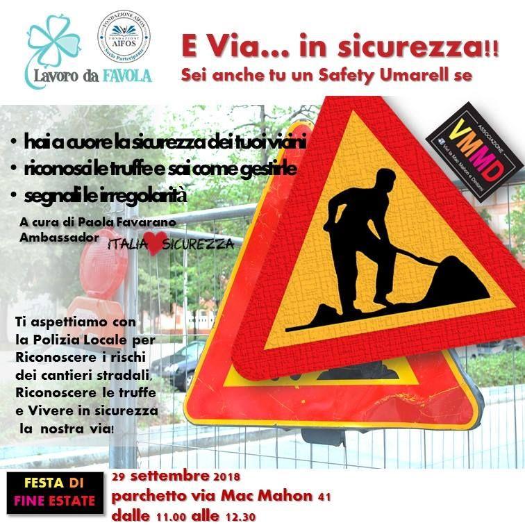 Safety Umarell: a scuola di sicurezza nei cantieri stradali