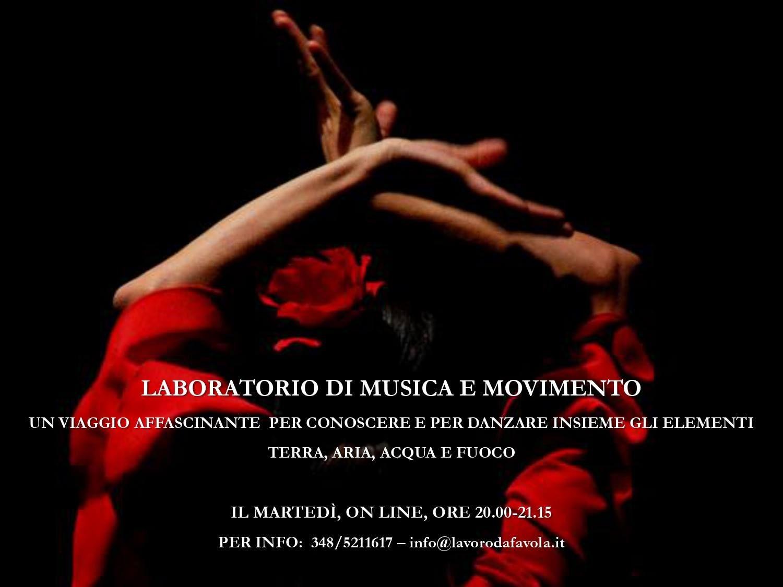 LABORATORIO DI MUSICA E MOVIMENTO
