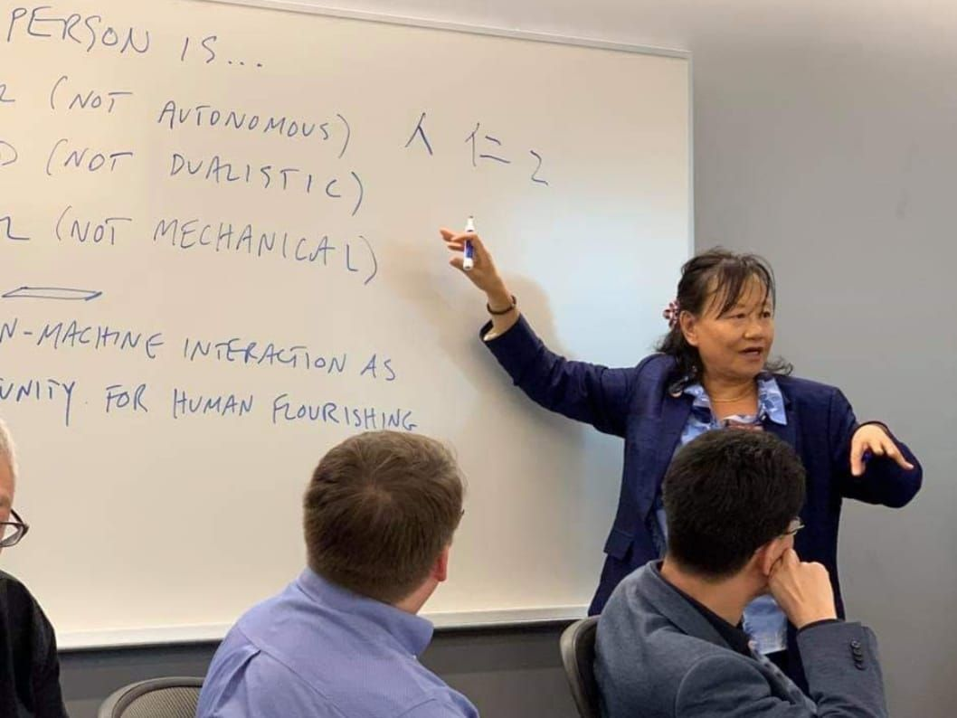 ARTIFICIAL INTELLIGENCE (AI)  On these days in the Silicon Valley -Georgetown University, -Santa Clara University, -La Civiltà Cattolica bring together thought leaders   from #China 🇨🇳 #Usa 🇺🇸 and #Europe 🇪🇺  to explore  the implications of the ARTIFICIAL INTELLIGENCE (AI)  buff.ly/2VjPuoK