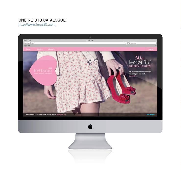 Il sito Ferca '81 è realizzato con il CMS proprietario di Hellobrand e contiene una gallery pubblica, un area catalogo privata dei prodotti aggiornabile dal cliente con un sistema per la gestione degli ordini e un sistema per l'invio di newsletter.