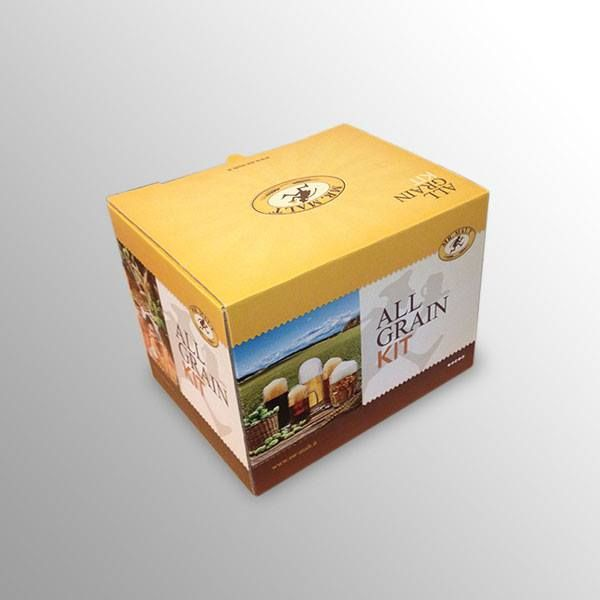 "BEER KIT ALL GRAIN Nuovo packaging per il ""beer kit"" per birra artigianale Mr. Malt."