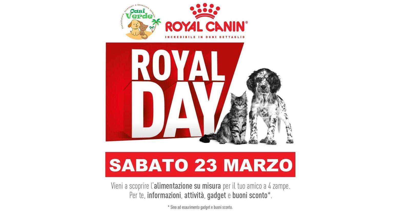 Giornata Promozionale ROYAL CANIN