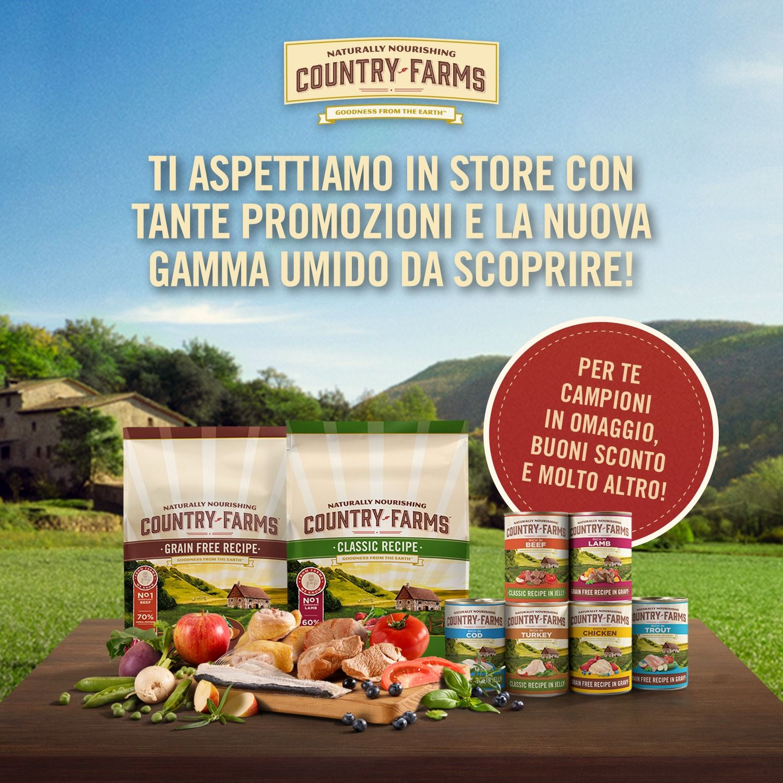 Giornata Promozionale COUNTRY FARMS