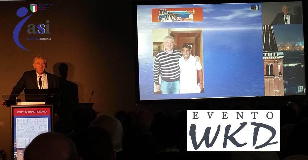 Convegno Nutrizione WKD per lo Sportivo del Dott. Aronne Romano