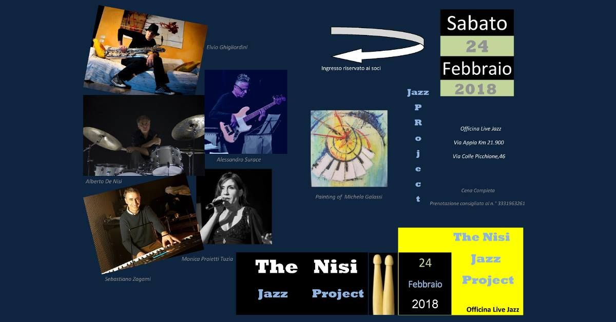 The Nisi Jazz Project - Blues Fusion & Funk Jazz
