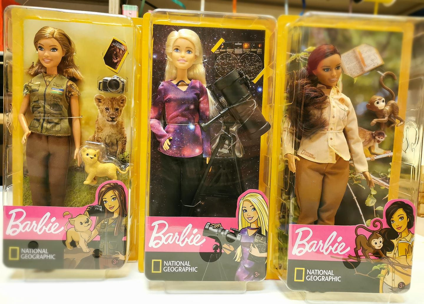 Barbie National Geographic What else???